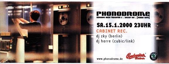 2000.01.15 Phonodrome