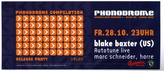2000.10.28 Phonodrome