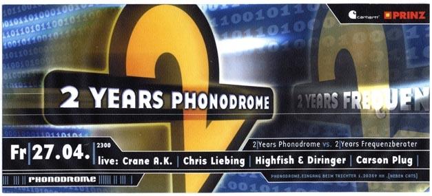 2001.04.27 Phonodrome