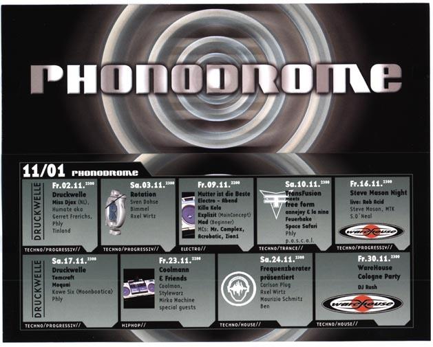 2001.11 a Phonodrome
