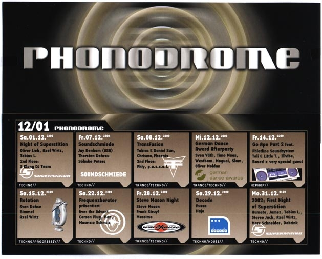 2001.12 a Phonodrome