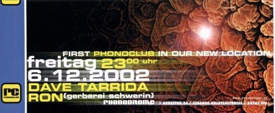 2002.12.06 Phonodrome