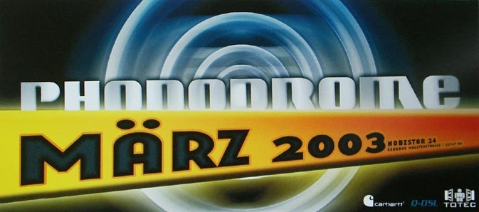 2003.03 a Phonodrome