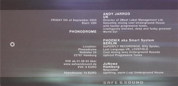 2003.09.05 b Phonodrome