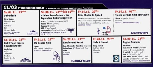 2003.11 Phonodrome