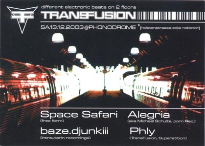 2003.12.13 a Phonodrome
