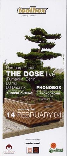 2004.02.14 Phonodrome
