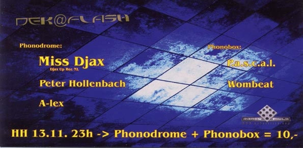2004.11.13 b Phonodrome