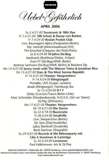 2006.04_b Uebel & Gefaehrlich