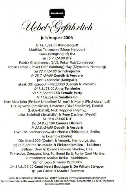 2006.08-07_b Uebel & Gefaehrlich
