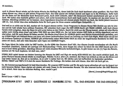 1997.08 Mailing UNIT