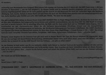 1997.09 Mailing UNIT