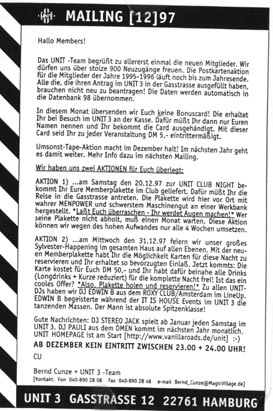 1997.12 Mailing UNIT