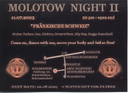 Molotow Night II b