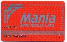 Clubkarte 2001 Voila
