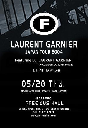 2004.05.20 Sapporo Precious Hall Japan