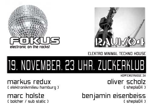 2005.11.19 Zuckerklub